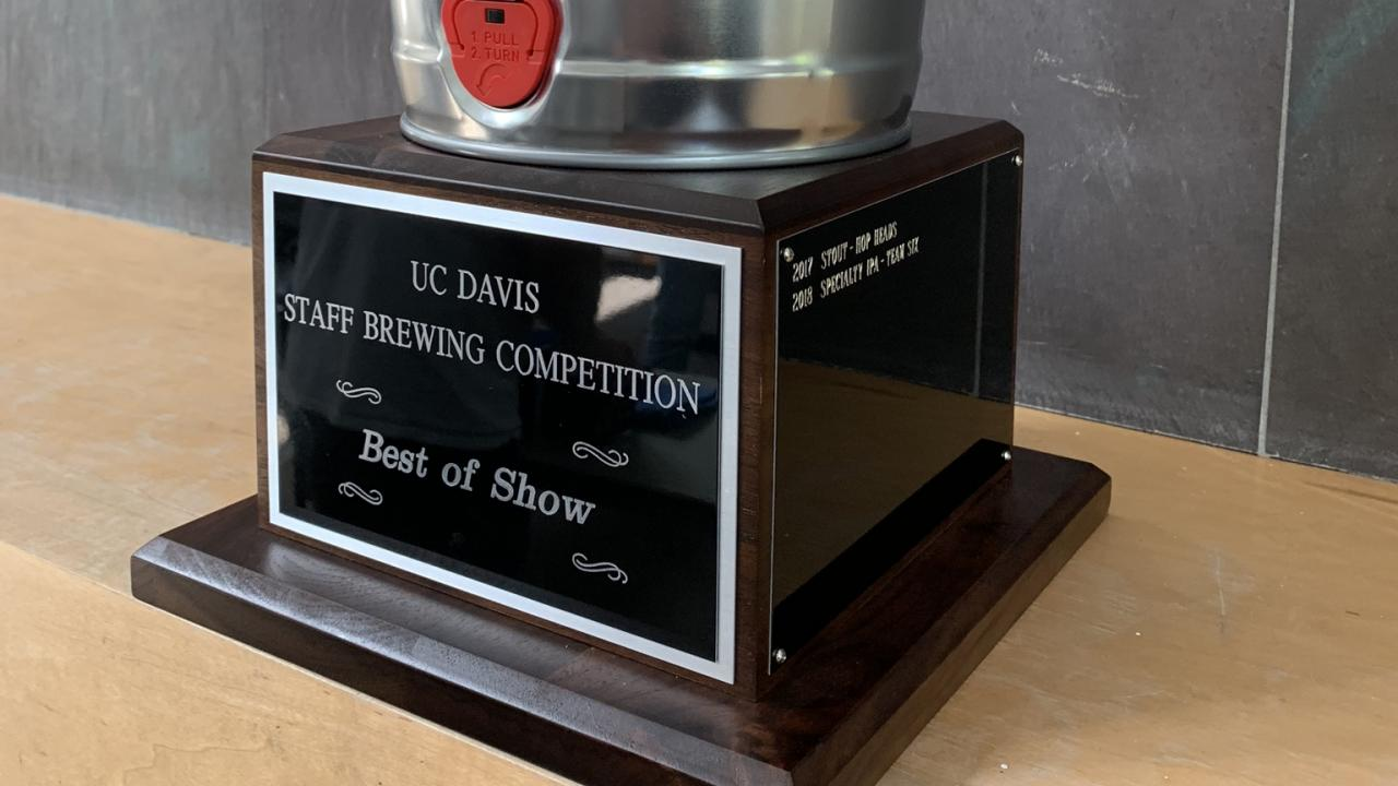 Beer Competititon Trophy