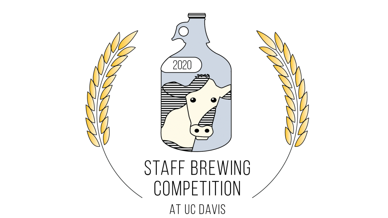 Staff Brewing Competition 2020 UC Davis Logo