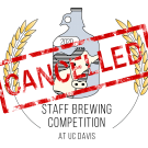 Staff Brewing Competition 2020 UC Davis Logo Cancelled